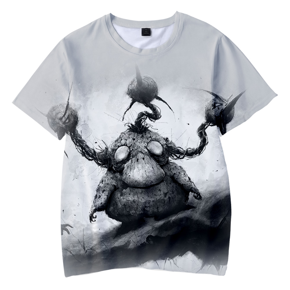 horror-version-stimulates-gray-theme-font-b-pokemon-b-font-pikachu-3d-cool-summer-t-shirt-fashion-adult-kids-short-sleeve-round-collar-t-shirt