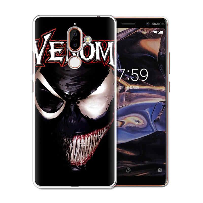 BigChen 毒ソフトシリコーン電話ノキア 1 3 5 8 6 2 7 プラス 9 × 6 2.1 3.1 5.1 6.1 2018 Coque キャパシェルクール小箱
