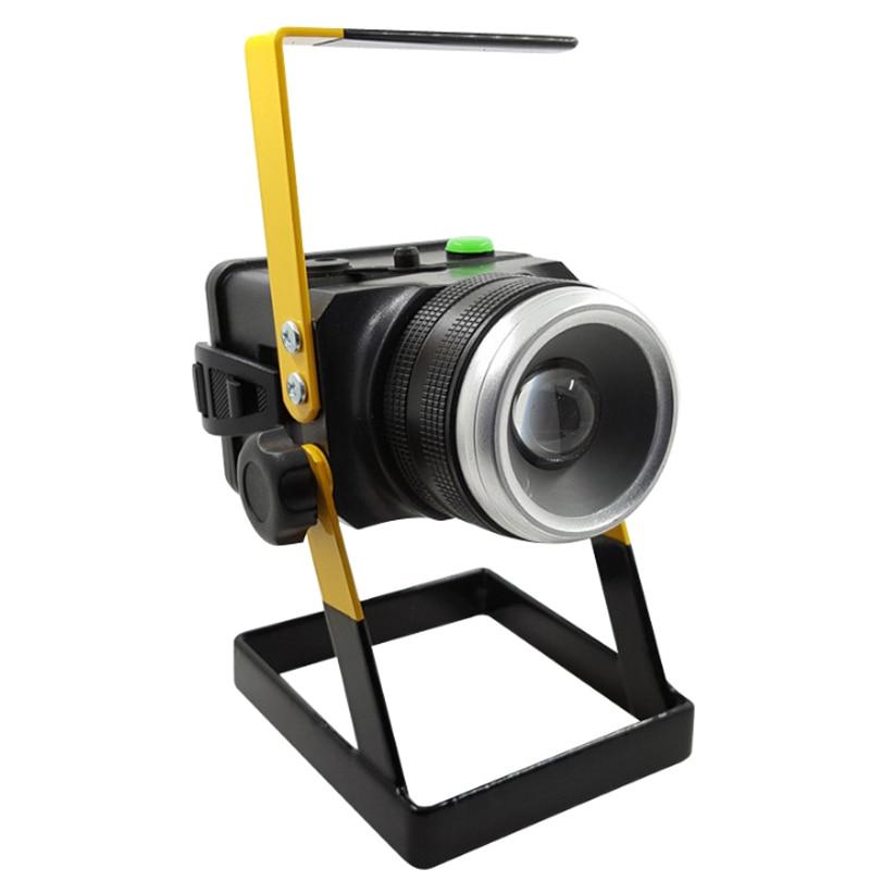 portable 12 volt floodlight 10w led spotlight searchlight. Black Bedroom Furniture Sets. Home Design Ideas