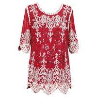 European Brand Top Quality Half Sleeve Handmade Bead Bag Hip Hook Flower Sequin Dresses Slim Plus