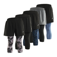 Quick Dry Mens Sports 3″ Running Shorts  2 IN 1 Shorts With Longer Liner