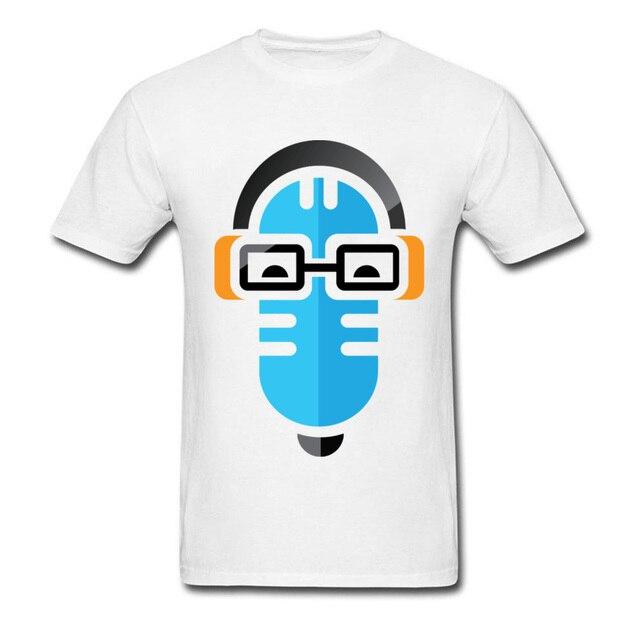 8185e033f Marka T Shirty Mężczyźni Aussie Geek Show Logo Naklejki Koszulka Męska Z  Krótkim Rękawem Sweterek Tee