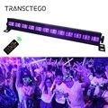 紫 6/9/12 LED UV ライトディスコライト DMX 512 パーティーライトパーブラックライト DJ ステージランプレーザープロジェクターバークリスマス壁ランプ