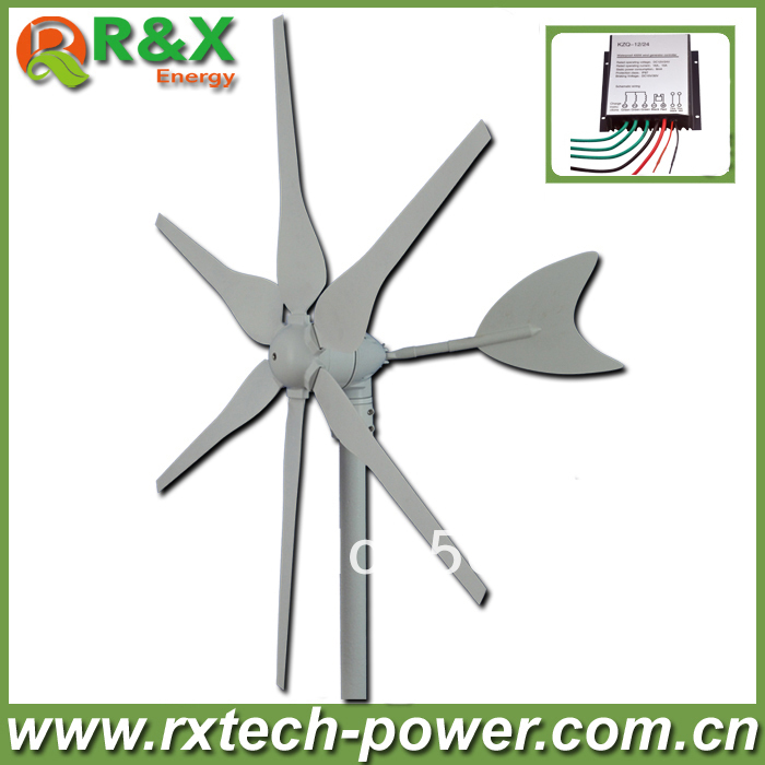 Horizontal wind generator 300w wind generator, factory price+high quality small wind generator for boat+wind controller. novotech wind 369656