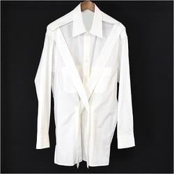 2020 Yohji hemden yohji zurück zeigen yohji yamamoto yoshi kunden reine baumwolle S-6XL! Große yards männer kleidung