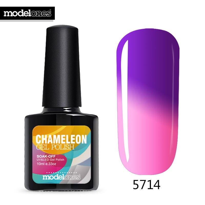 10ML Temperature Thermal Gel Polish UV Led Nail Gel Mood UV Gel Nail Polish Soak-off Vernis Semi Permanent Color Changing Gel