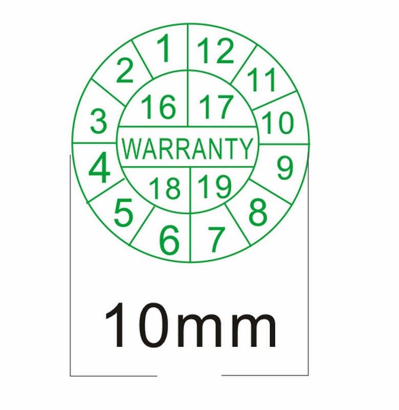 Free Shipping 1000pcs/lot Warranty Sealing Label Sticker Void If Seal Broken, Fragile Label,diameter 1cm