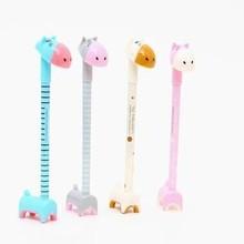 40 шт. канцелярские принадлежности, супер милая Шариковая ручка в виде осла, жирафа, гиппотама, животного, может использоваться в качестве подставки, канцелярские принадлежности, подарок для студентов