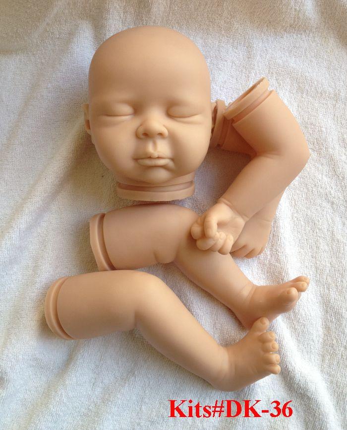 ФОТО SHINEHENG Reborn Kits For 21 inch Realistic Baby Doll Vinyl Kit Seraphina by Akie Yamada Soft Silicone Head Arms Legs