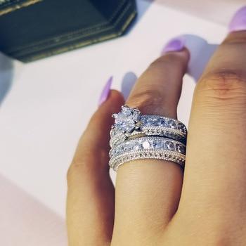 6f4c0d852756 925 de lujo de plata esterlina audaz gran boda anillos para boda de las  mujeres de África el dedo de Navidad joyas de regalo r4428