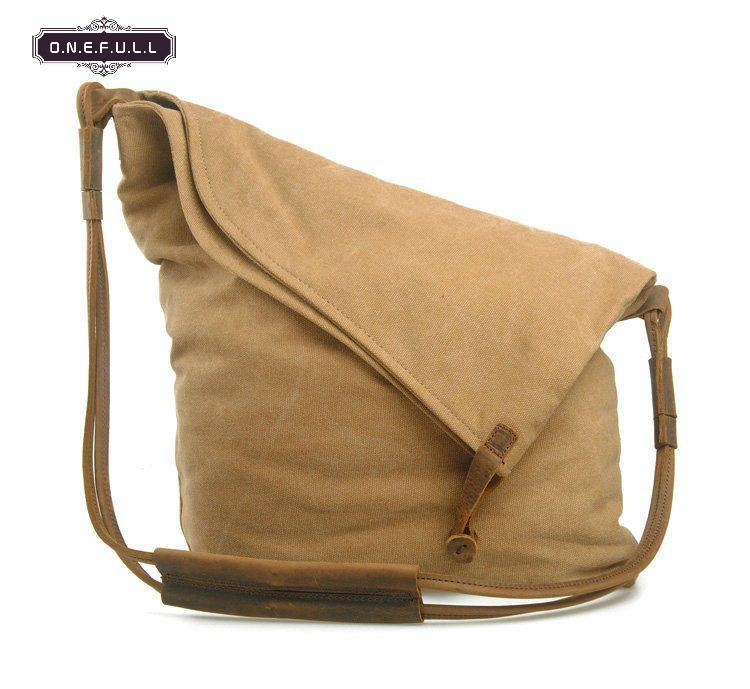 HIGH QUALITY Vintage Shoulder Bag Canvas Solid Crossbody Cover Shoulder Bags Leisure Holiday Messenger Bags