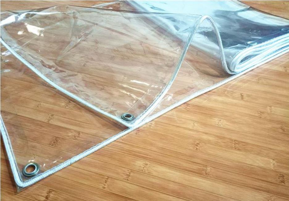 Customize Multiple Sizes Full Transparent Cover Cloth,thickness 0.5mm Waterproof PVC Trap,100% Transparent Rain Material.curtain