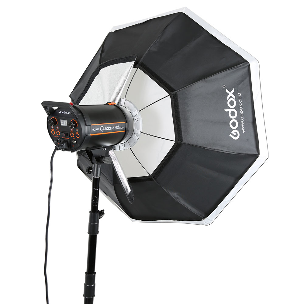 Professional Godox Top Octagon Softbox 95cm 37 with Bowens Mount Speedring for Photography Studio Strobe Flash Light godox studio flash accessories octagon softbox 37 95cm bowens mount with the gird for studio strobe flash light