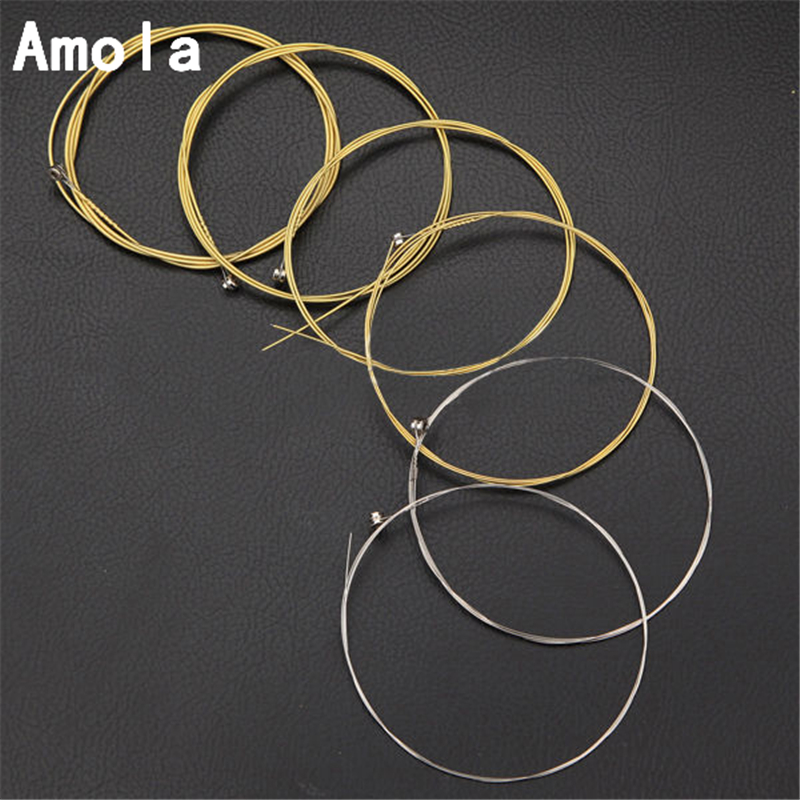 Wound Acoustic Guitar String Set  012 A150XL/012 in Light a150xl/304mm Stainless Steel Acoustic Guitar Strings 6strings/set rotosound rs66lc bass strings stainless steel