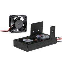 JGAURORA A3S A5 A5S 3d принтер вентилятор экструдера Uper и вниз без металлического листа 24 В 0.1A