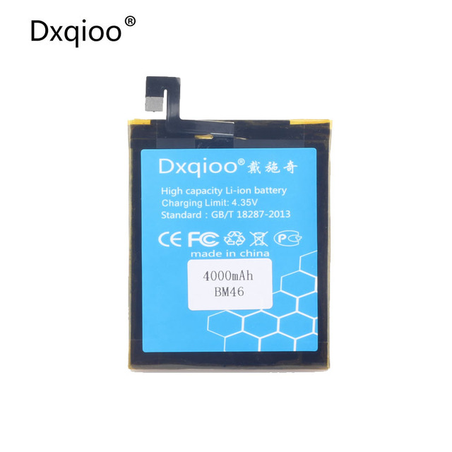 Dxqioo Mobile phone battery fit for r Xiaomi Redmi Note 3 Note3 Pro BM46 batteries