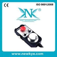 100 импульсный 5v MPG Маховик с аварийным переключателем, электронный маховик для 4 Вал токарного станка