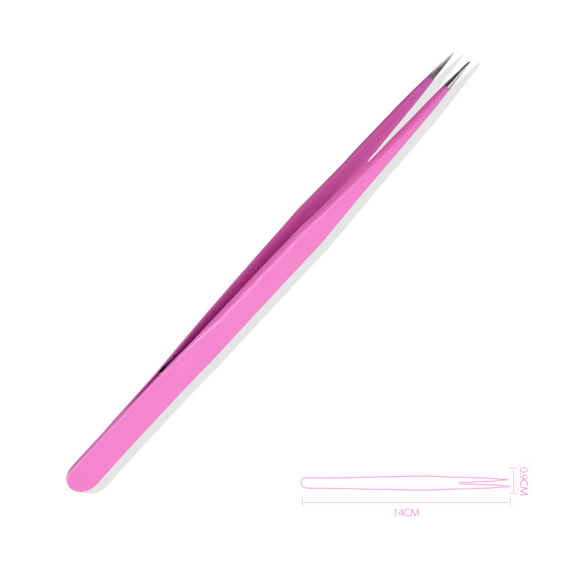 Stainless Steel Anti-Static Tweezers For Nail Art Accessories 789