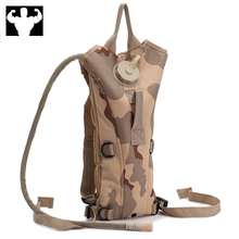 3L camping water bag, military tactical water bag backpack, outdoor camping water bag, large capacity nylon riding water bag
