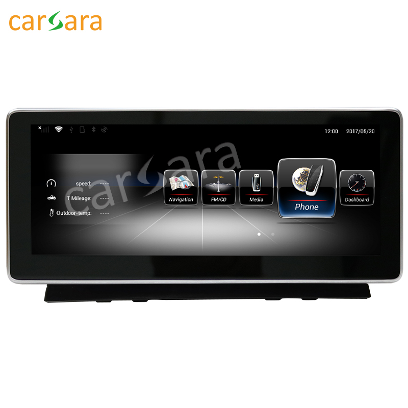 10.25 Android monitor for BENZ C Class W204 2008 to 2010 C250 C350 C63 AMG touch screen GPS Navigation multimedia player