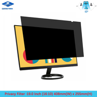 19 inch Privacy Filter Screen Protector Film for Widescreen Desktop Monitors 16:10 Ratio