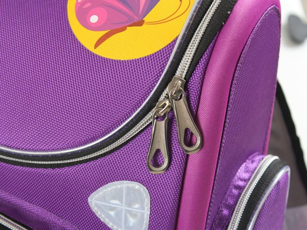 0ba6f0afb5 2014 new Children s Orthopedic girls purple Purple Butterfly bag ...