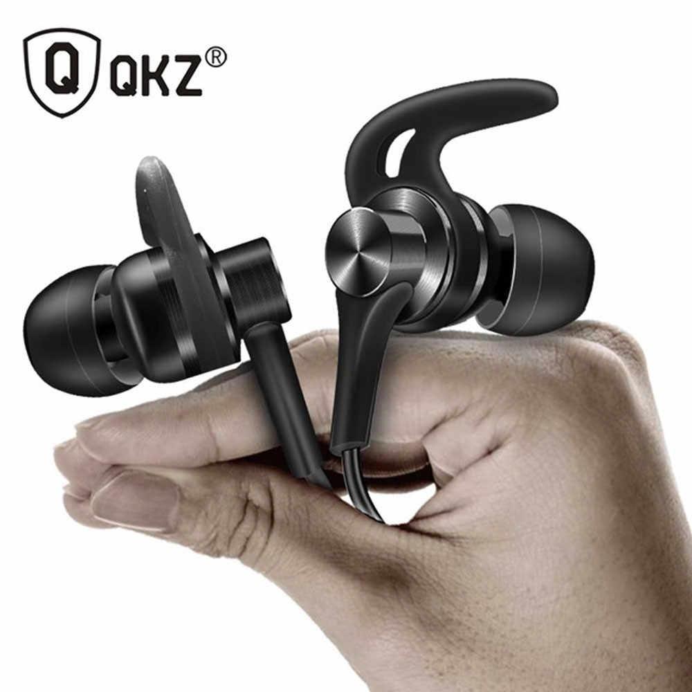 Kinganda سماعة الزنك سبائك QKZ DT1 في الأذن سماعة ايفي سماعة سماعة معدنية الرياضة fone دي ouvido ل Xiaomi 7.10