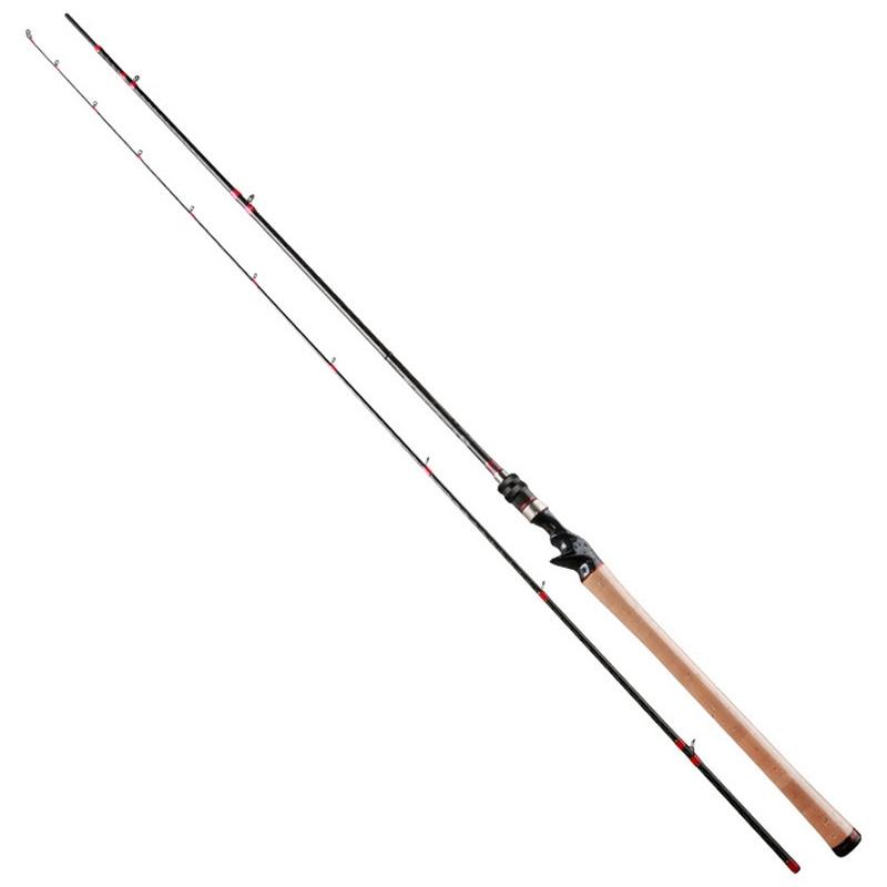 Trulinoya 2.47m Power:M Carbon Baitcasting Fishing Rod 7-25g Long Shot Bass Lure Rods Japan FUJI Accessories Pesca Pole Tackle