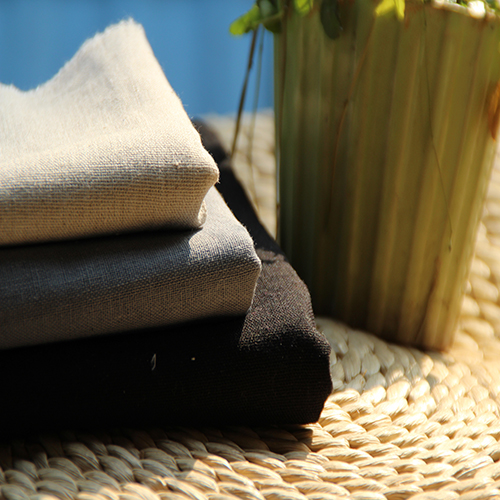 Black And Grey Series Cotton Linen Fabric Soild Color Clothing Fabric Cm Width Tablecloth Material Curtain Cloth