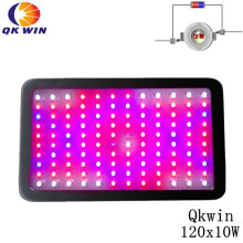 Qkwin 1200W Led grow light 120x10W high power double chip led hydroponics lighting system full spectrum france shipping qkwin 1000w led grow light 100x10w with double chip 10w full spectrum led grow light for indoor plants