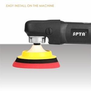 Image 5 - SPTA מתחם ליטוש רפידות עבור 5 אינץ לטש מרוט חיץ כרית סט עבור DA / RO הכפול פעולה רכב לטש סנדר לבחור צבע