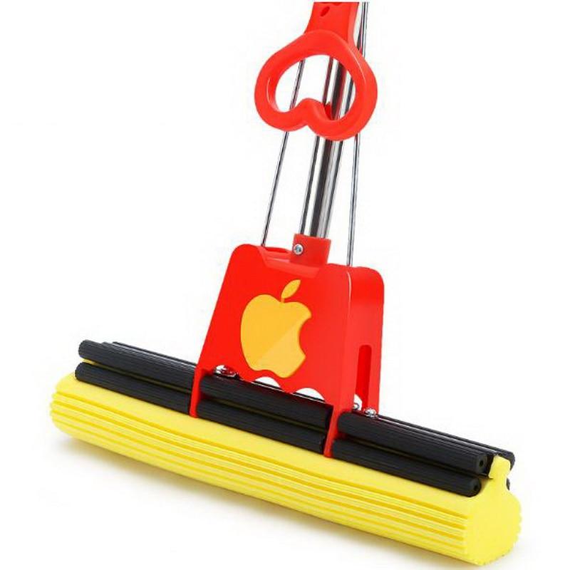 341225 / Lipat Air Lem Cotton Squeeze Mop Dengan Stainless Steel - Barang-barang rumah tangga