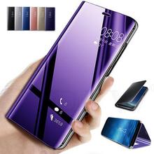 Mirror Flip Case For Samsung Note 10 Plus Stand Cases For Sa