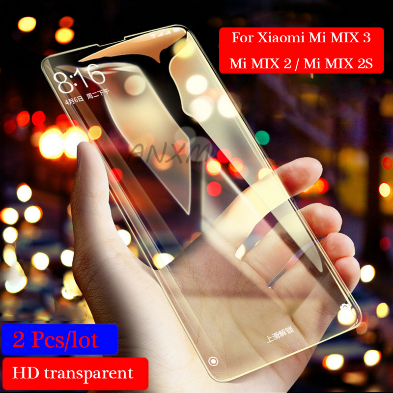 Image 4 - 2Pcs/lot Full Cover Tempered Glass For Xiaomi Mi MIX 2 2s 3 MIX3 MIX2s MIX2 Screen Protector For Xiaomi Mi MIX 3 2 2s Glass Film-in Phone Screen Protectors from Cellphones & Telecommunications