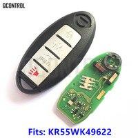 QCONTROL Smart Card Remote Key For NISSAN Altima Teana Maxima MURANO For Infiniti G25 G35 G37