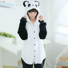 New kids kigurumi Panda Blanket Overalls Jumpsuit Adult Children Hoodie Animal Pajamas Onesie Cosplay Flannel Sleepwear Costumes
