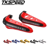 Universal Handlebar Hand Protector W LED Daytime Running Light High Quality Plastic Motorcycle Hand Guards