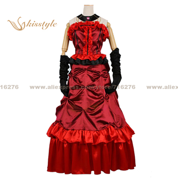 Kisstyle Fashion Black Butler Madam Red Uniform COS Clothing Cosplay Costume,Customized Accepted