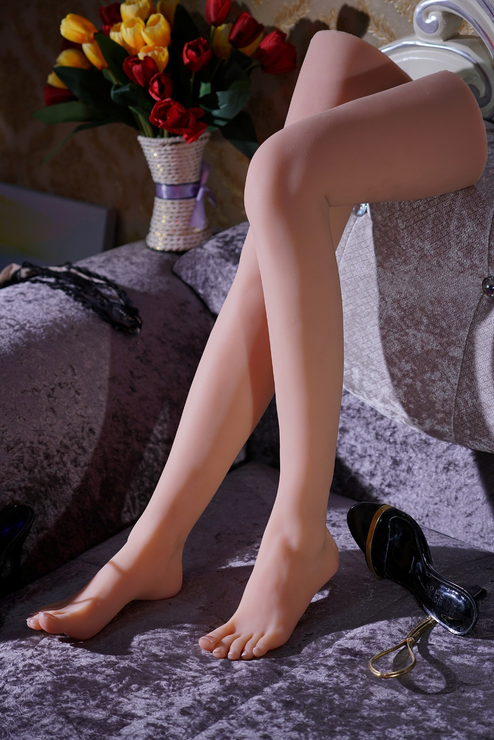 newest girls ballerina dancer gymnast foot feet pointed toes fetish toys model top quality new sex product soft feet fetish toys for man lifelike female feet mannequin fake feet model for sock show ft 3600 1