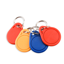 10 Pcs RFID Keytags Mifare 13,56 MHz 14443A M1 S50 Kleine Smart IC Schlüssel Ring Tag Keyfob Token Nfc Access control Keycard