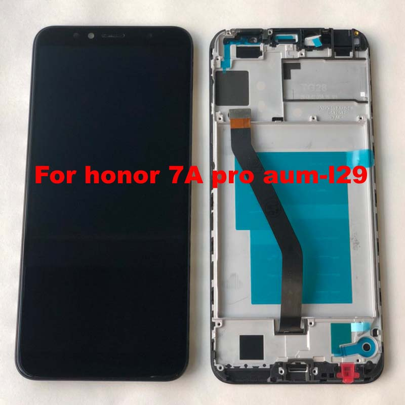 2018 New 5.7 inch for Huawei Honor 7A pro aum-l29 AUM-L41 LCD Display Touch Screen Digitizer Assembly Original LCD+Frame Aum-L21