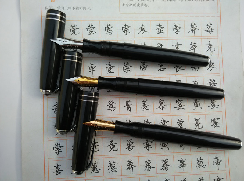 Original Jin Xing 28 Golden star 28 Venus 28 pen old fashion classic antique rotary pen 1990's