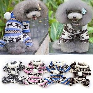 Image 5 - Zero 1 шт. Домашний питомец собака теплая одежда щенка комбинезон с капюшоном пальто собачка одежда