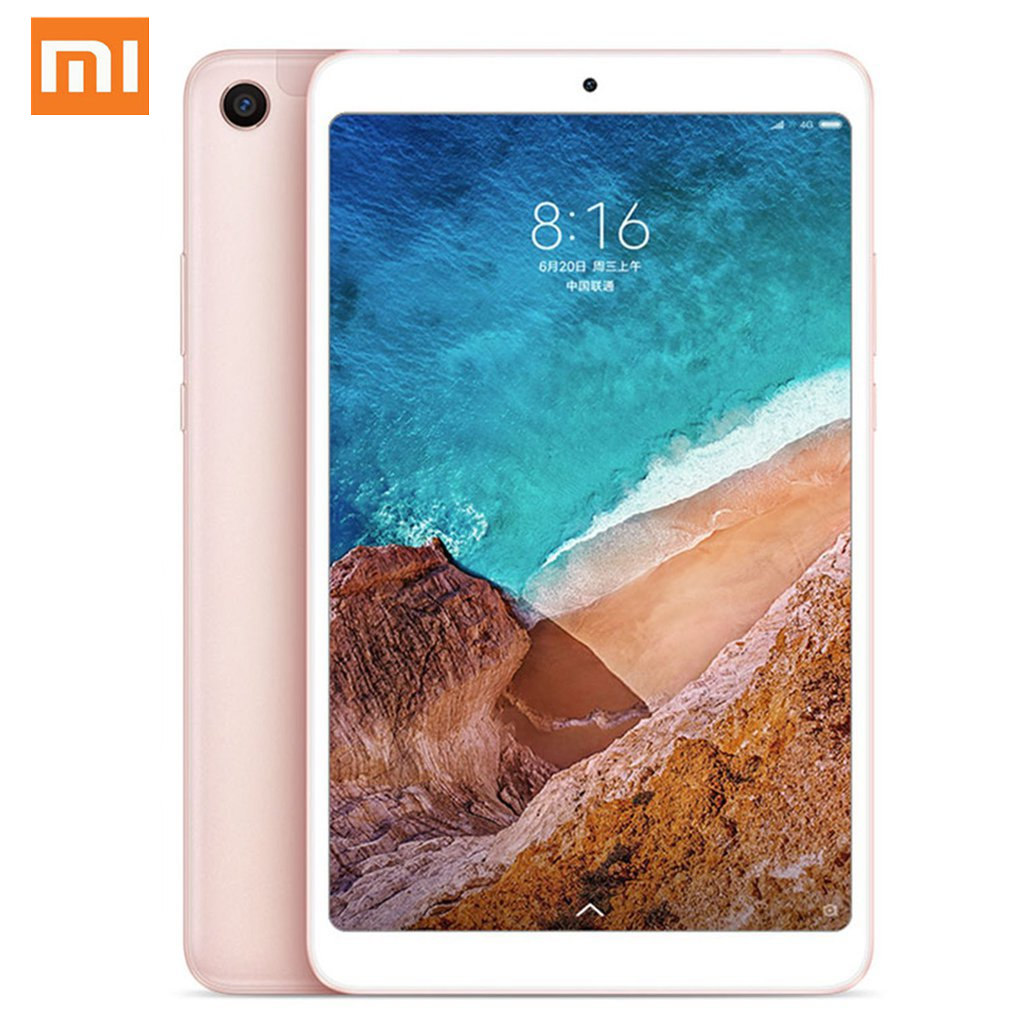 Multi-langue Xiao mi Pad 4 Plus 64 GB/128 GB tablettes 4 Snapdragon 660 AIE 8620 mAh 10.1 ''16:10 1920x1200 écran 13MP mi Pad 4