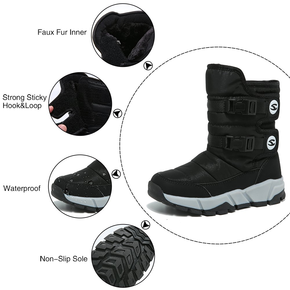 Best Offer #dcc2 Kids Winter Shoes Children Girls Boots