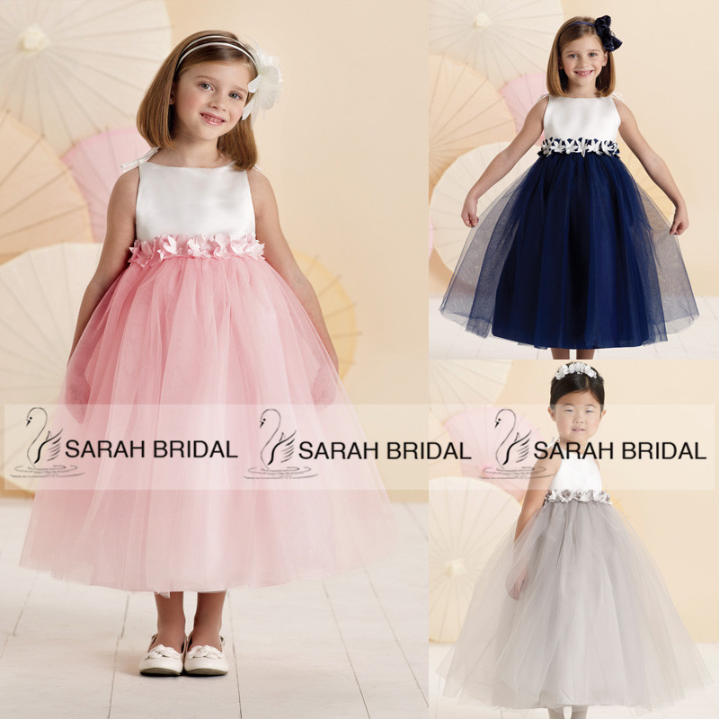2015 new royal blue princess little flower girl dresses cute pink 2015 new royal blue princess little flower girl dresses cute pink girls first communion dresses silver vestido de daminha fg245 in flower girl dresses from mightylinksfo