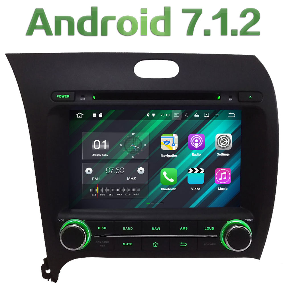 3G 4G WIFI 8 Android 7 1 2 2GB RAM DAB SWC Car DVD Player font