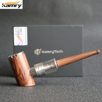 Original Kamry K1000 Plus E-Pipe kit 1000mAh Smoking Pen Wooden Design E Pipe Electronic Cigarette Hookah