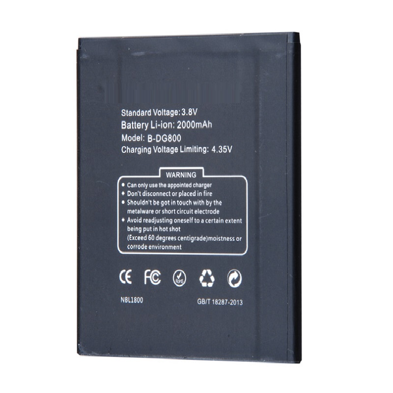 Original Antirr Mobile Phone Battery For Doogee DG800 VALENCIA High Quality Replacement Battery