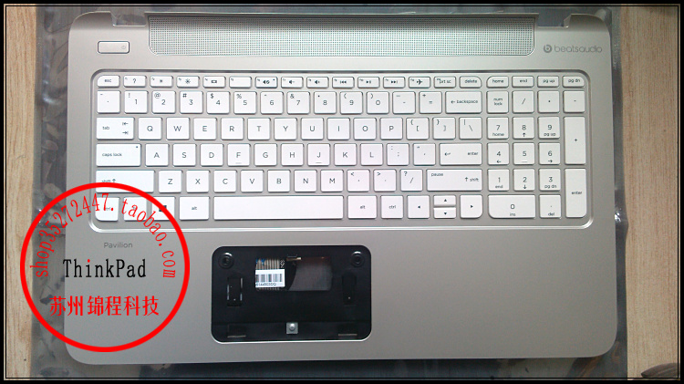 Original laptop Keyboard for HP Pavilion 15-P010DX 15-P Layout with Palmrest Cover Bezel White color Fully tested